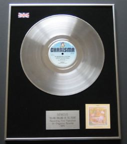 GENESIS - Selling England By The Pound PLATINUM LP PRESENTATION Disc